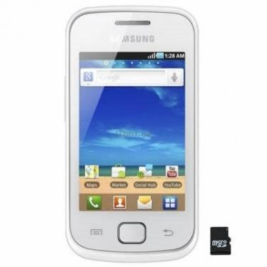 Мобільний телефон GT-S5660 (Galaxy Gio) Silver White Samsung (GT-S5660SWA) - фото 1