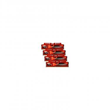 Модуль памяти для компьютера DDR3 16GB (4x4GB) 1866 MHz G.Skill (F3-14900CL9Q-16GBXL) - фото 1