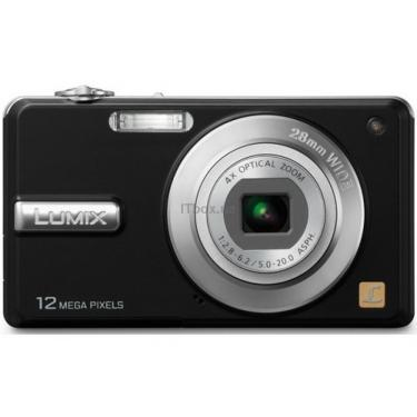 Цифровий фотоапарат Lumix DMC-F3EE-K black PANASONIC (DMC-F3EE-K) - фото 1