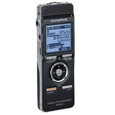 Цифровой диктофон OLYMPUS DM-550-E1-BLK (N2283421) - фото 2