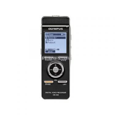 Цифровой диктофон OLYMPUS DM-550-E1-BLK (N2283421) - фото 1