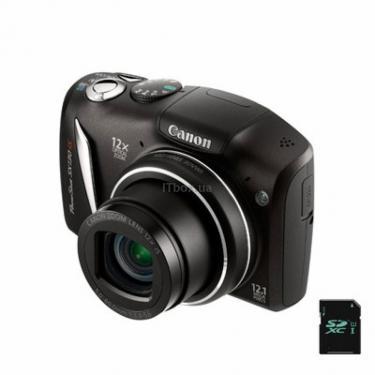 Цифровий фотоапарат PowerShot SX130is black Canon (4345B001/4345B019) - фото 1