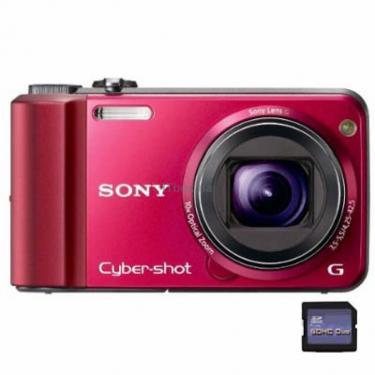 Цифровой фотоаппарат Cyber-shot DSC-H70 red SONY (DSCH70R.CEE2) - фото 1