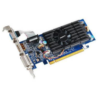 Видеокарта GeForce 210 512Mb OverClock GIGABYTE (GV-N210OC-512I) - фото 1
