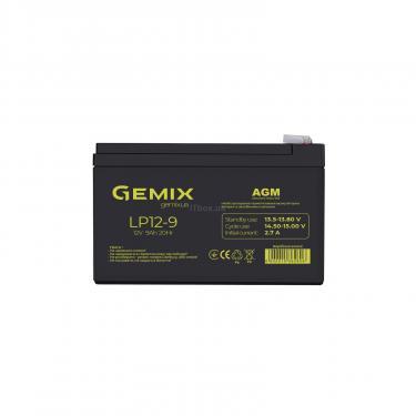 Батарея до ДБЖ 12В 9 Ач GEMIX (LP12-9) - фото 1