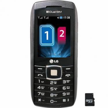 Мобільний телефон GX300 Black LG (GX300 BK) - фото 1
