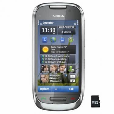 Мобільний телефон C7-00 Frosty Metal Nokia (002S309) - фото 1