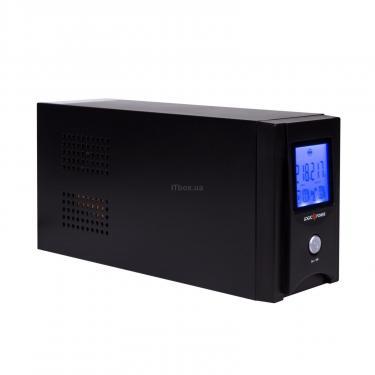 Пристрій безперебійного живлення UL850VA LCD (AVR) USB LogicPower (1456) - фото 4