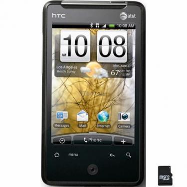 Мобільний телефон HTC A6380 Gratia Black (4710937346909) - фото 1