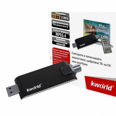 ТВ тюнер KWorld USB Hybrid TV Stick Pro (UB423-D) (KW-UB423-D) - фото 1
