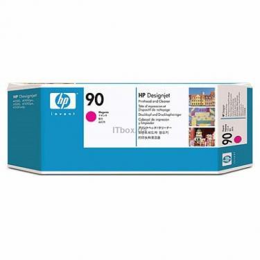 Печатающая головка HP No.90 Magenta/Cleaner DesignJ4000 (C5056A) - фото 1