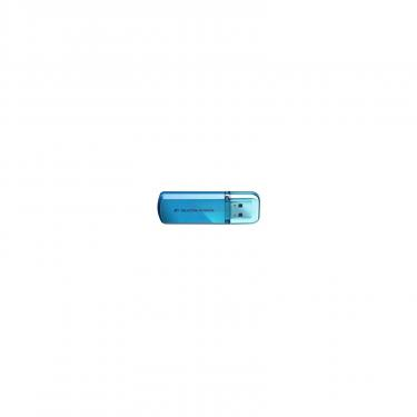 USB флеш накопитель Silicon Power 4Gb Helios 101 blue (SP004GBUF2101V1B) - фото 1