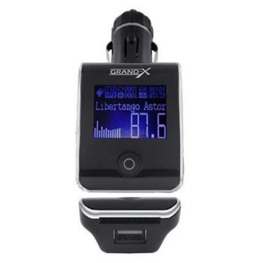 Автомобильный MP3-FM модулятор Grand-X CUFM24GRX silver SD/USB (CUFM24GRX silver) - фото 2