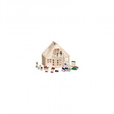 Игровой набор Melissa&Doug Меблированный Деревянный Домик Фото 1