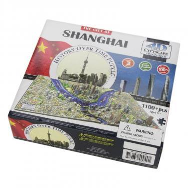 Пазл 4D Citysсape Шанхай, Китай Фото 2