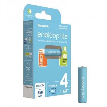 Аккумулятор Panasonic Eneloop Lite AAA 550mAh NI-MH * 4 Фото
