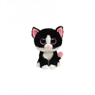 Мягкая игрушка Ty Черный кот Pepper, 15 см Фото
