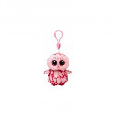 Мягкая игрушка Ty Розовая сова Pinky, 12 см Фото