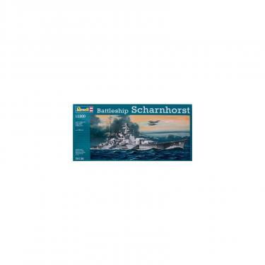 Сборная модель Revell Линкор Battleship Scharnhorst 1:1200 Фото
