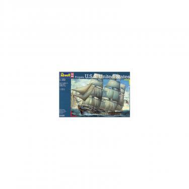 Сборная модель Revell Фрегат Fregate USS United States 1:150 Фото