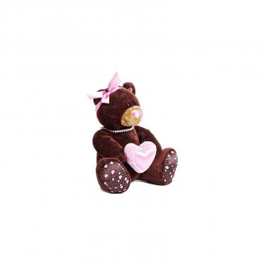 Мягкая игрушка Orange Мишка Milk с сердцем сидячий 30 см Фото 1