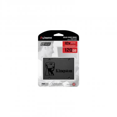 "Накопитель SSD 2.5"" 120GB Kingston (SA400S37/120G) - фото 5"