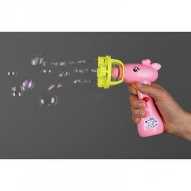 Игровой набор Same Toy мыльные пузыри Bubble Gun Жираф розовый Фото 1