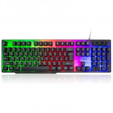 Клавиатура Vinga KB414 black - фото 1