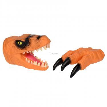 Игровой набор Same Toy Dino Animal Gloves Toys оранжевый Фото 1