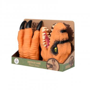 Игровой набор Same Toy Dino Animal Gloves Toys оранжевый Фото