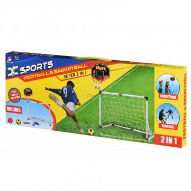 Игровой набор Same Toy X-Sports Ворота футбольные с баскетбольным кольцом Фото 2