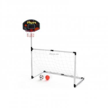 Игровой набор Same Toy X-Sports Ворота футбольные с баскетбольным кольцом Фото