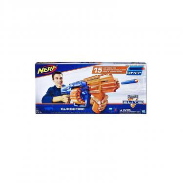 Игрушечное оружие Hasbro Nerf ЭЛИТ Сёрджфайр (бластер) Фото 2