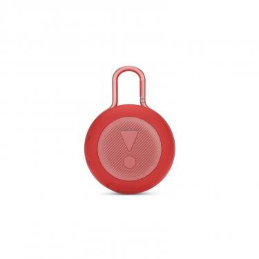 Акустическая система JBL Clip 3 Red (JBLCLIP3RED) - фото 4