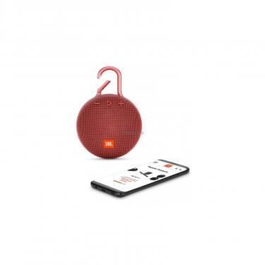 Акустическая система JBL Clip 3 Red (JBLCLIP3RED) - фото 5