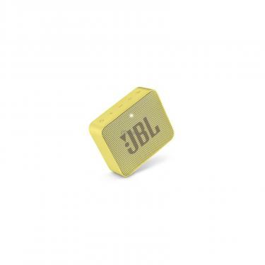 Акустическая система JBL GO 2 Yellow (JBLGO2YEL) - фото 5
