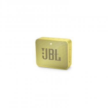Акустическая система JBL GO 2 Yellow (JBLGO2YEL) - фото 1