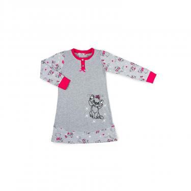 Пижама Matilda с котом (7364-128G-gray) - фото 1