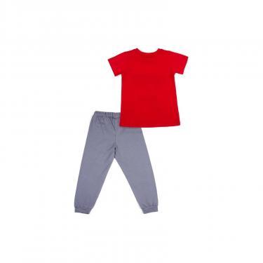 "Пижама Matilda ""FREEDOM"" (7742-122B-red) - фото 4"