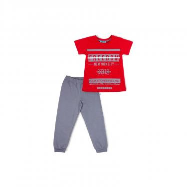 "Пижама Matilda ""FREEDOM"" (7742-122B-red) - фото 1"
