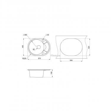 Мойка кухонная Minola MOG 1145-58 Песок Фото 1