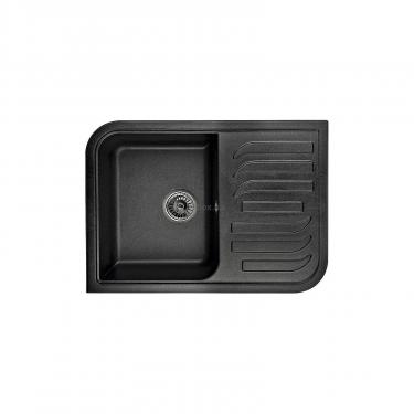 Мойка кухонная Minola MPG 71145-70 Антрацит (металлик) Фото