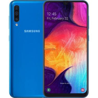 Мобильный телефон Samsung SM-A505FN (Galaxy A50 64Gb) Blue (SM-A505FZBUSEK) - фото 1