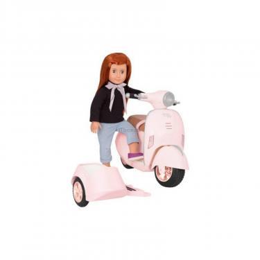Аксессуар к кукле Our Generation Скутер с боковой коляской Фото 2