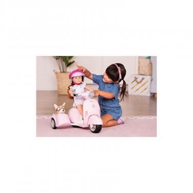Аксессуар к кукле Our Generation Скутер с боковой коляской Фото 3