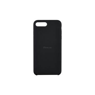 Чехол для моб. телефона 2E Apple iPhone 7/8 Plus, Liquid Silicone, Black (2E-IPH-7/8P-NKSLS-BK) - фото 1