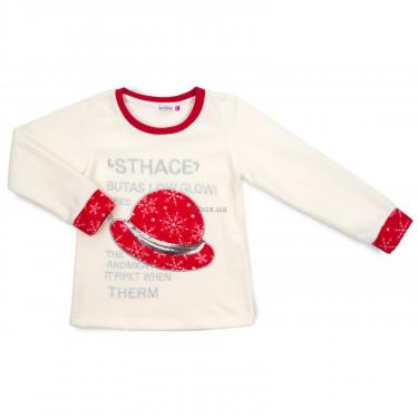 Пижама Matilda флисовая со шляпкой (9110-3-122G-red) - фото 2