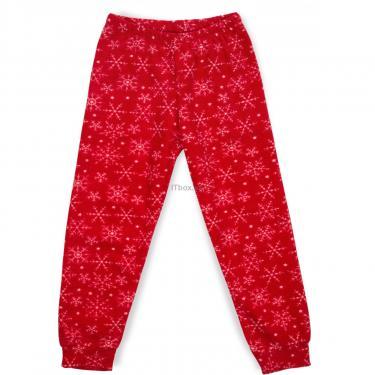 Пижама Matilda флисовая со шляпкой (9110-3-122G-red) - фото 3