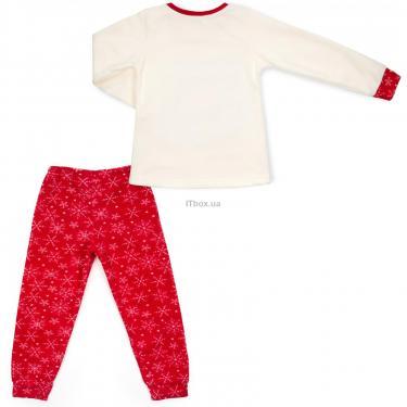 Пижама Matilda флисовая со шляпкой (9110-3-122G-red) - фото 4