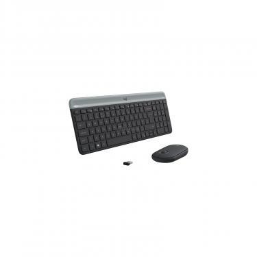 Комплект Logitech MK470 Wireless Slim Graphite (920-009206) - фото 2